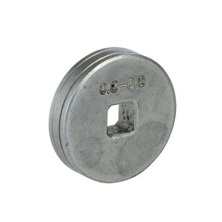 Telwin Doorvoerrol MIG-MAG - Feed roll D. 0,8- 0,9 mm Fe