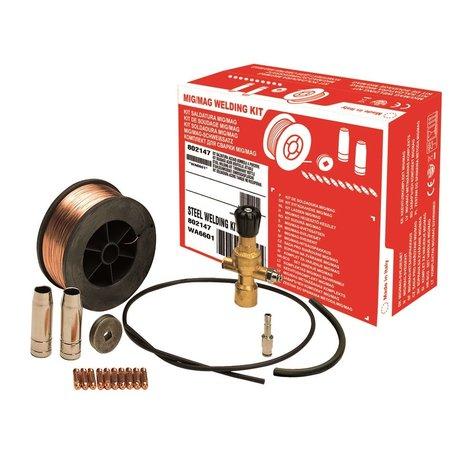 Telwin Lasset MIG/MAG Staal D. 0,6 mm  voor wegwerpgasflessen
