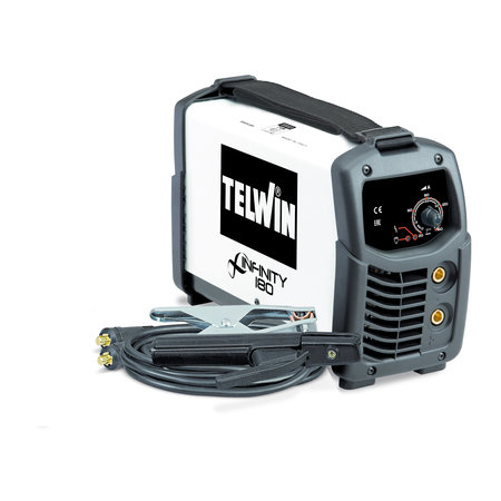 Telwin Infinity 180 MMA/ TIG inverter lasapparaat 230V ACD