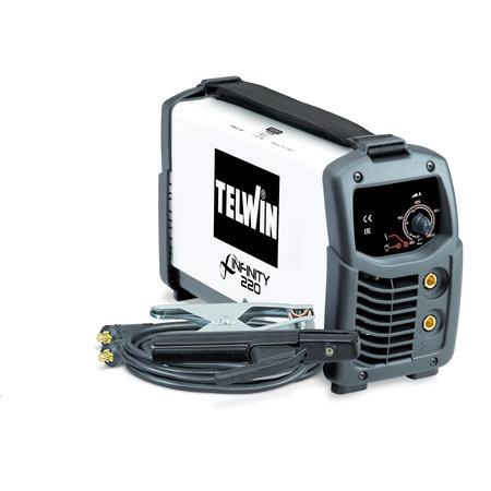 Telwin Infinity 220 MMA/ TIG inverter lasapparaat 230V ACD