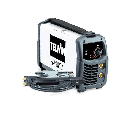 Telwin Infinity 228 CE MMA/ TIG inverter lasapparaat 230V ACD