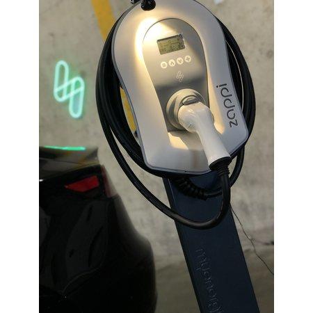 Myenergi Zappi Benelux Stand/ Paal voor 1 Zappi - RVS