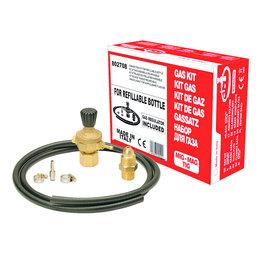 Telwin Aansluitset/ Gas Kit voor navulbare gasfles Mig-Mag/ Tig