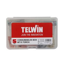 Telwin Consumables Box MT15 - Verbruiksartikelen MIG/Mag-toorts