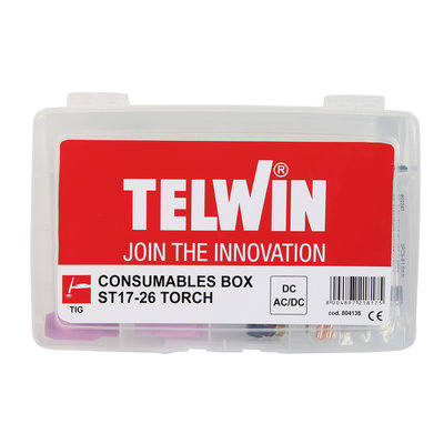 Telwin Consumables Box voor Tig Toorts ST17-26