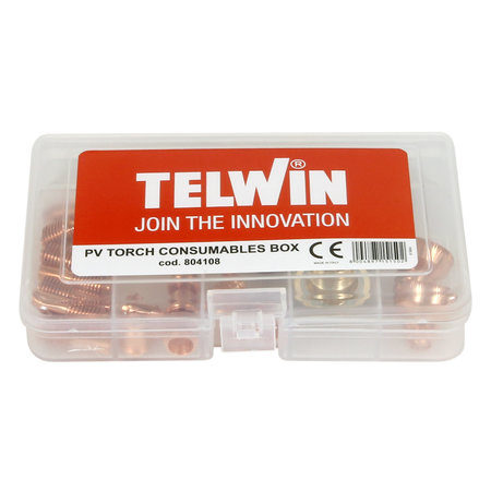 Telwin PV Torch Consumables Box voor Superior Plasma 70