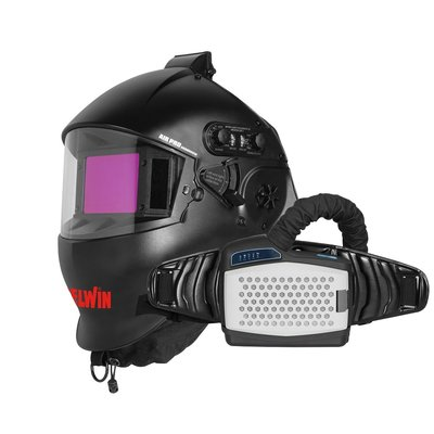 Telwin Air Pro Grandview Automatische Lashelm MMA/MIG-MAG/TIG + PAPR-luchtfilter
