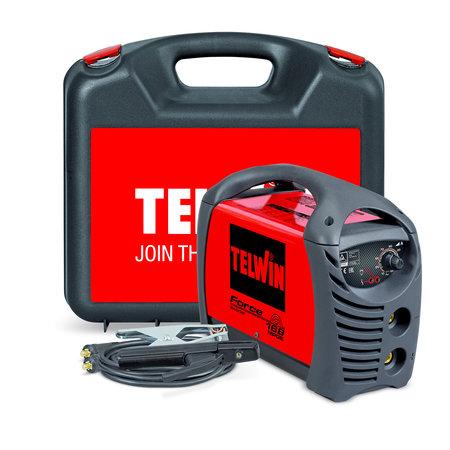 Telwin Force 168 MPGE elektrode lasapparaat + Koffer