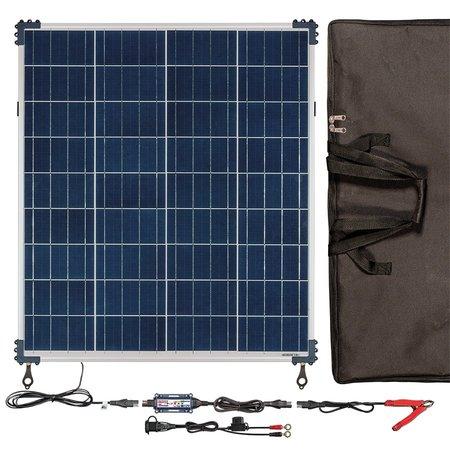 Tecmate Optimate Solar 80W zonnepaneel - Travel kit