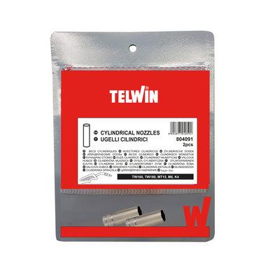 Telwin Cilindrische Mondstukken/ Nozzles MIG-MAG - 2 stuks