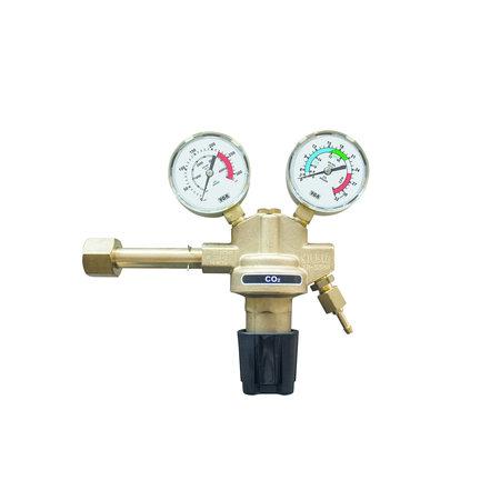 Telwin Drukregelaar/ Reduceerventiel met 2 manometers - 32 l/min