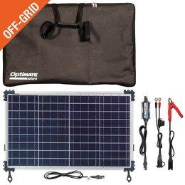 Tecmate Optimate Solar Duo 40W - Travel Kit