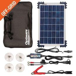 Tecmate Optimate Solar Duo 10W - Travel Kit