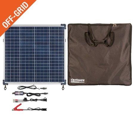 Tecmate Optimate Solar 60W zonnepaneel - Travel Kit