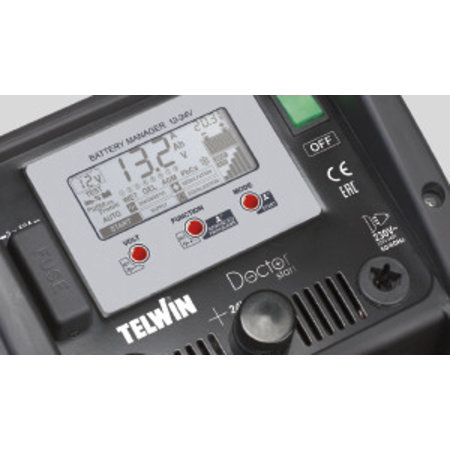 Telwin Acculader/booster/accumanager Doctor Start 530