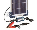 Solar acculaders