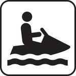 Acculaders voor een waterscooter