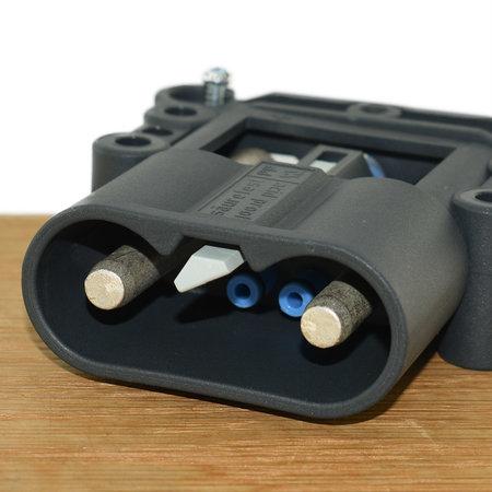 REMA Eurostekker voor zuurcirculatie 160A - Mannelijk - 35mm²