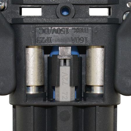 REMA Eurostekker Air voor zuurcirculatie 160A - Vrouwelijk - 50mm²