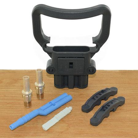 REMA Eurostekker voor zuurcirculatie 80A - Vrouwelijk -25mm²