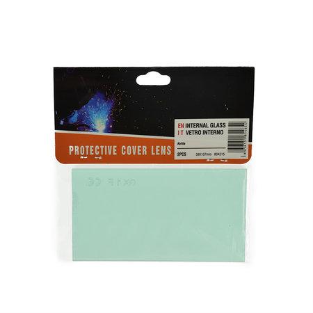Telwin Beschermglas Binnen voor Lashelm Air Lite - Set van twee