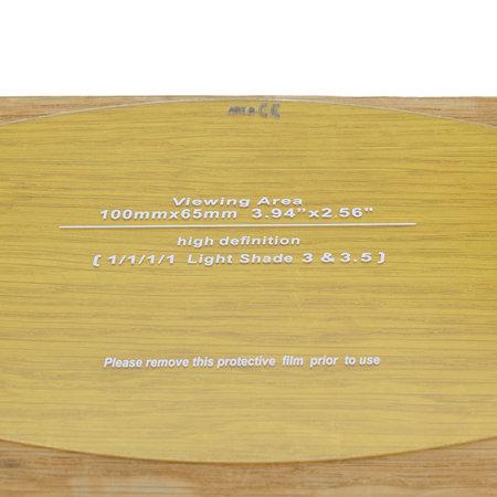Telwin Beschermglas Buiten voor Lashelm Air Pro Grandview - Set van twee