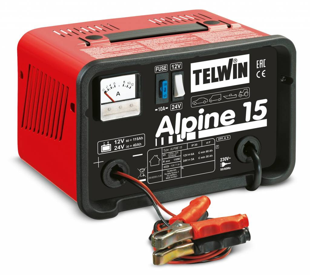 acculader Alpine 15