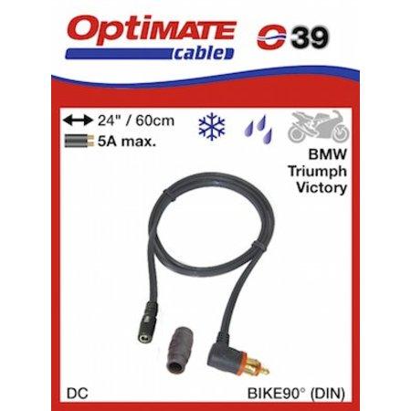 Tecmate Optimate O39 adapter kabel CAN-bus DIN naar DC