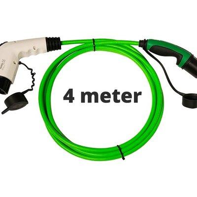 Ratio Laadkabel type 1 - 1 fase 16A - 4 meter