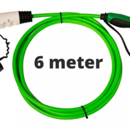 Ratio Laadkabel type 1 - 1 fase 16A - 6 meter