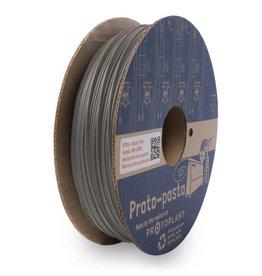 Proto-pasta 1,75 mm Matte Fiber HTPLA filamento, Grigio