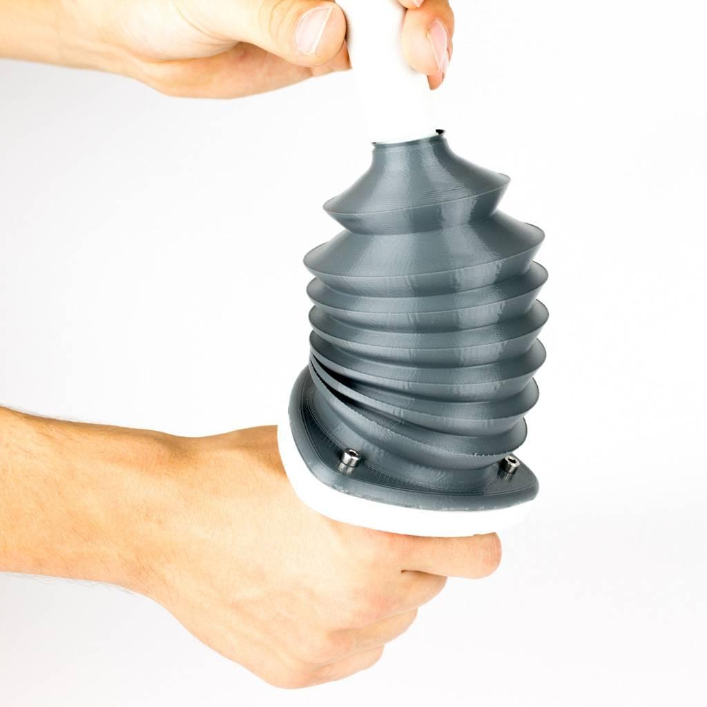 ColorFabb 1.75 mm nGen Flex flexible filament, Black