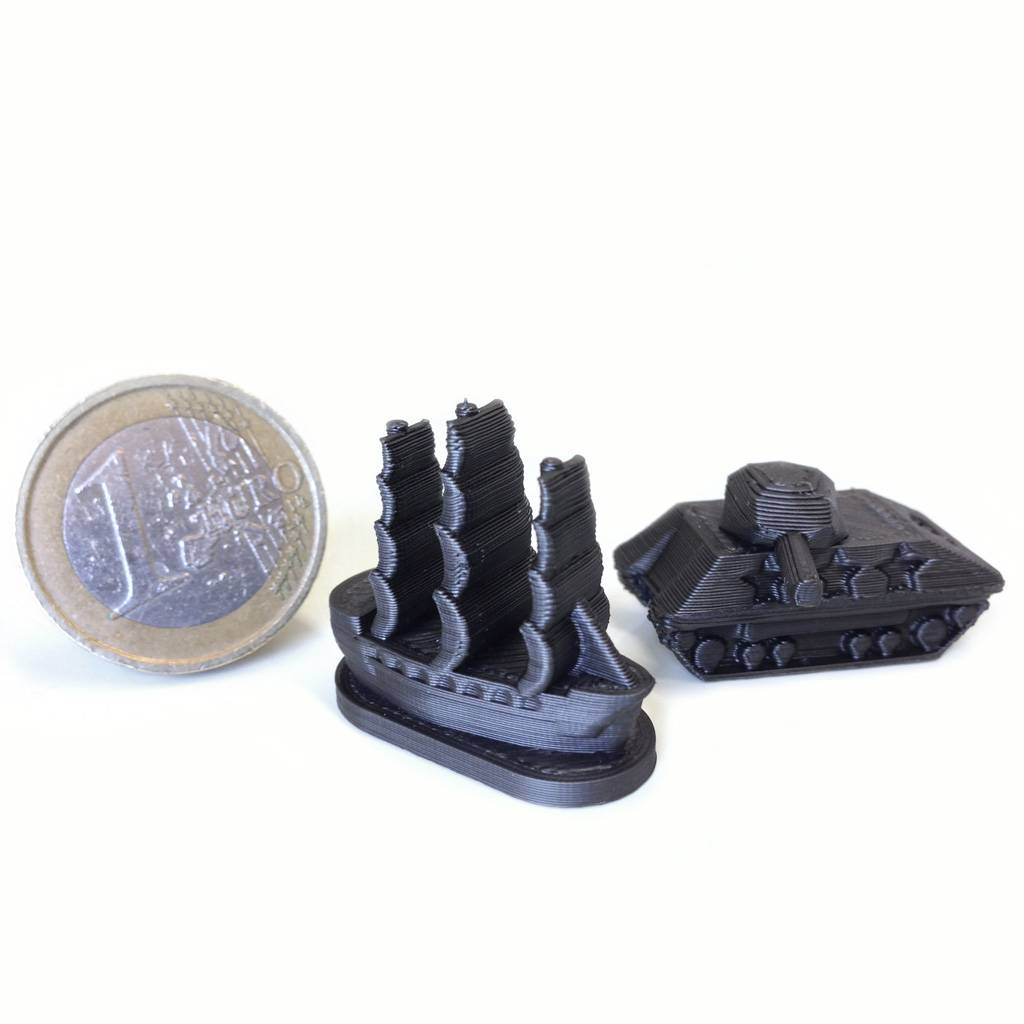 FiloAlfa 1,75 mm Grafylon 3D® filamento PLA al grafene, Nero