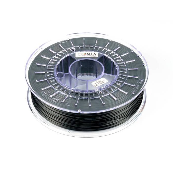 FiloAlfa 1,75 mm PC/ABS filamento, Nero
