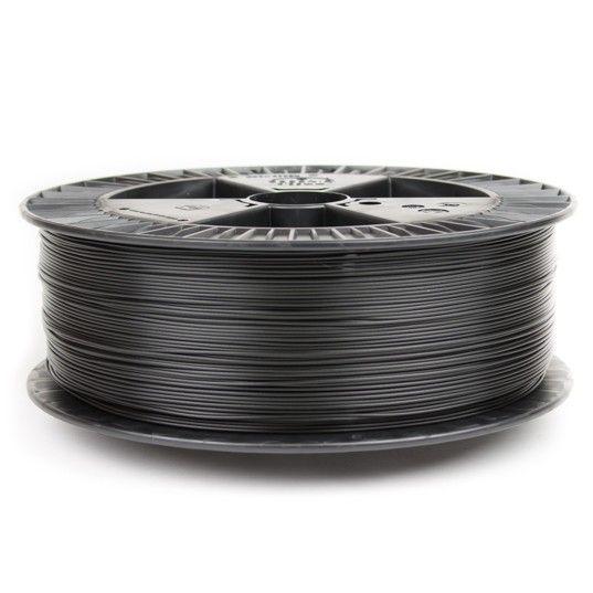 ColorFabb 1,75 mm PLA economy filamento, Nero - Bobina XL