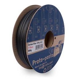 Proto-pasta 2,85 mm HTPLA Fibre di carbonio filamento, Nero