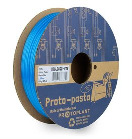 Proto-pasta 1,75 mm HTPLA filamento, Glitter Winter Blue