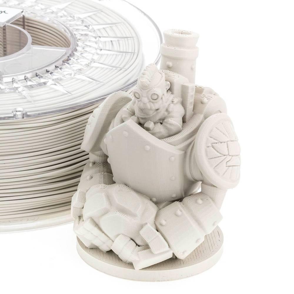 Extrudr 1.75 mm PLA NX2 filament Matt finish, Grey