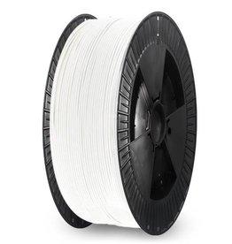 Extrudr 1,75 mm NX2 filamento PLA finitura opaca, Bianco - Bobina XL