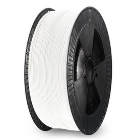 Extrudr 1.75 mm NX2 PLA filament Matt finish, White - Big spool