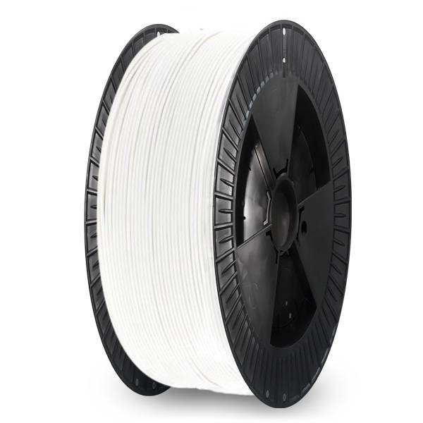 Extrudr 1.75 mm NX2 PLA filament Matt finish, White - Big spool