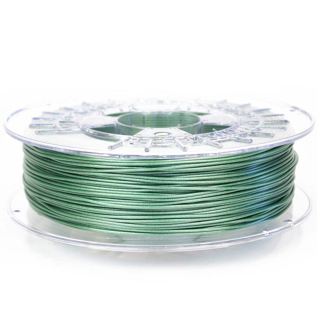 ColorFabb 1.75 mm nGen Lux filament, Nature Green