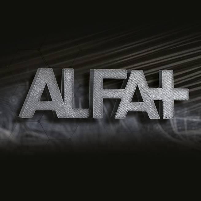 FiloAlfa 1,75 mm ALFAplus filamento, Nero