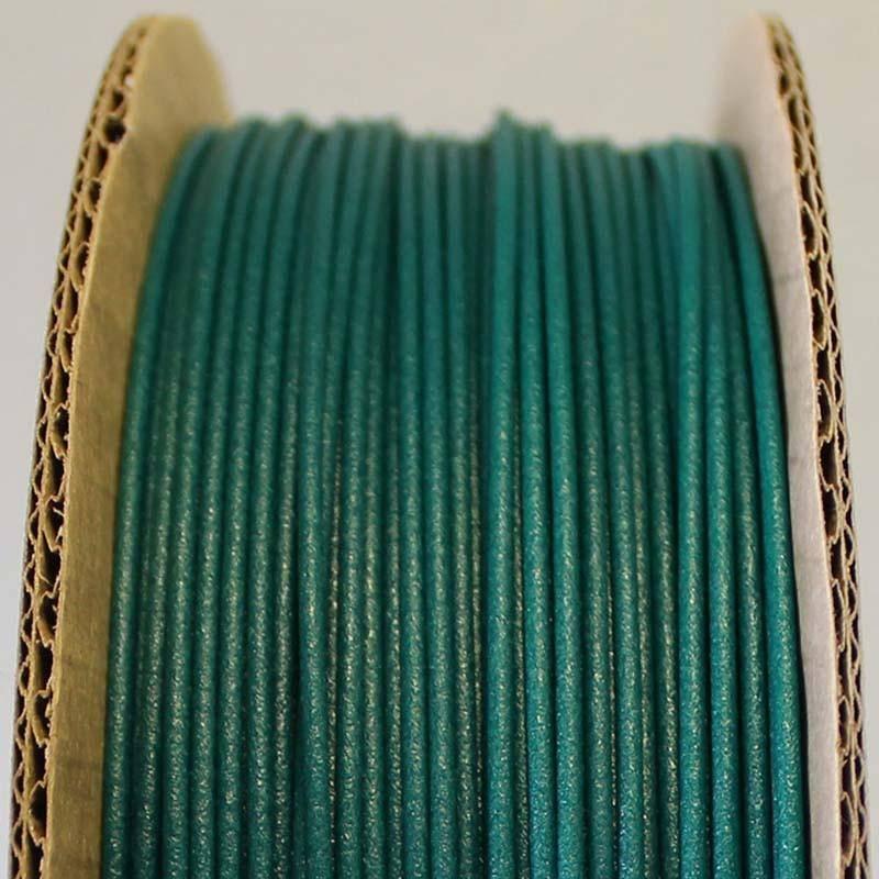 Proto-pasta 1,75 mm Matte Fiber HTPLA filamento, Verde
