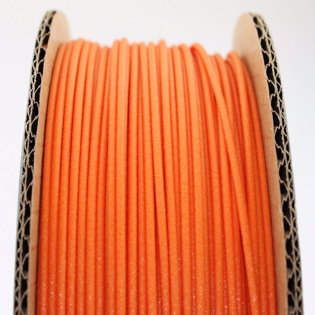 Proto-pasta 1.75 mm Matte Fiber HTPLA filament, Orange