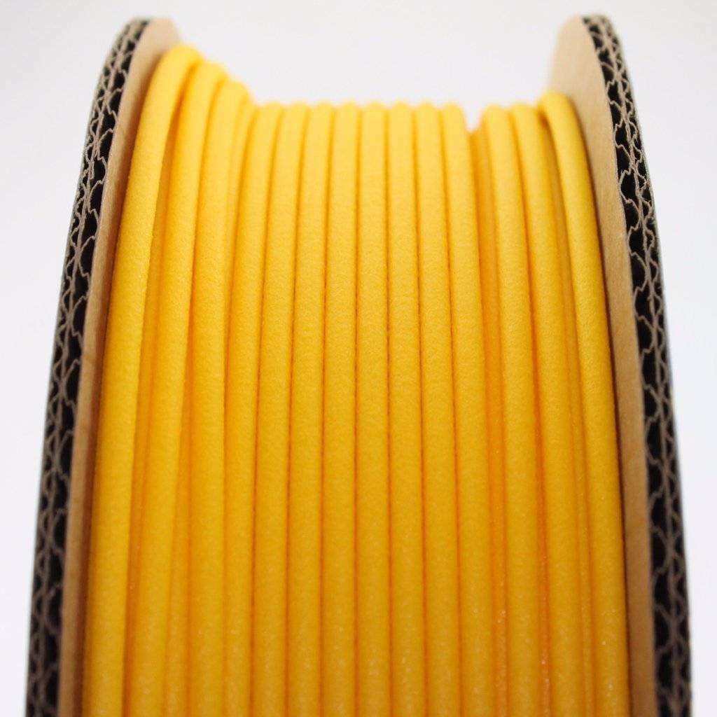 Proto-pasta 1.75 mm Matte Fiber HTPLA filament, Yellow