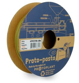 Proto-pasta 1.75 mm Brass Metal HTPLA filament