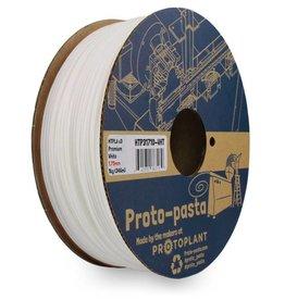 Proto-pasta 1.75 mm Premium HTPLA v3 filament, White