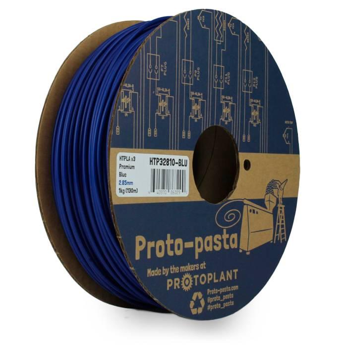 Proto-pasta 1,75 mm Premium HTPLA v3 filamento, Blu