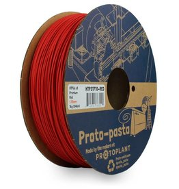 Proto-pasta 1,75 mm Premium HTPLA v3 filamento, Rosso